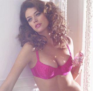 Harlequin Underwire Balconnet Bra Maia 5221 Pink Plum Turquoise