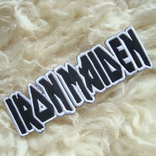 1PC IRON MAIDEN ROCK BAND EMBROIDERED IRON ON PATCH SHIRT PANTS HAT