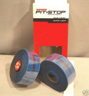 HANDLE BAR TAPE PLUG SET SRAM BLUE SUPER LIGHT NEW FREE SHIP MAINLAND