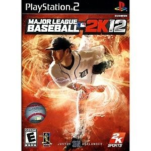New Major League Baseball 2K12 Game for Playstation 2 MLB 2K12 PS2