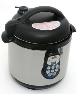 Electric Pressure Cooker 6 3qt Programmable Slow Cooker