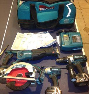 Makita LXT Cordless Tool Kit 18V Lithium