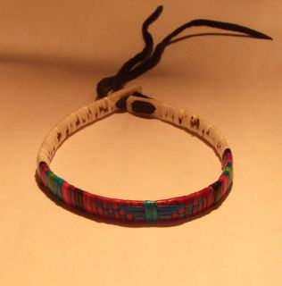 Beautiful New LAKOTA Sioux Quilled Bracelet