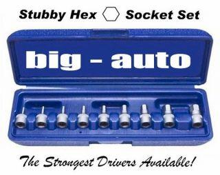 ON SALE SAE Stubby Hex Set Tools GM CHEVY FORD GMC Auto Car Mechanics