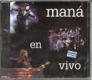 MANA, EN VIVO (LIVE)   2 CDs SET. FACTORY SEALED. IN SPANISH.