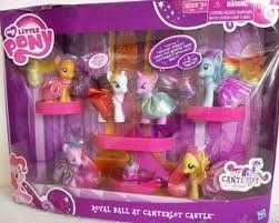 Pony 6 Play Set Friendship Is Magic Royal Ball Canterlot Castle Spike