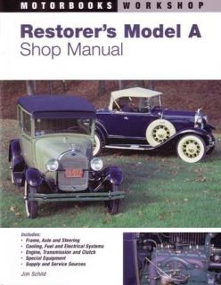 1928 1929 1930 1931 Ford Model A Restorers Shop Service Repair Manual