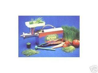 New Miracle Pro Green Machine MJ575 Wheatgrass Juicer