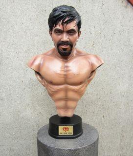 Manny Pacquiao Bust Life Size Lifesize 1 1 Statue Figure Hot Toys