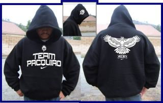 Team Manny Pacquiao Hooded Sweatshirt T Shirt s 3XL