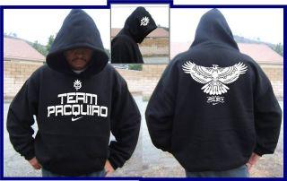 Team Manny Pacquiao Hooded Sweatshirt T Shirt s 3XL
