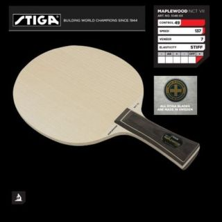 Stiga Maplewood NCT VII Table Tennis Ping Pong Racket
