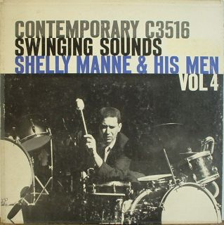 Shelly Manne Swinging Sounds Vol 4 Contemporary 3516 Nice