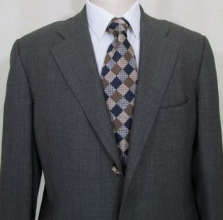 Zegna Multiweather Dark Gray Suit 44 R