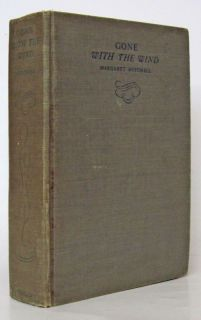 Gone with The Wind by Margaret Mitchell First December 1936 Printing