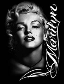 Marilyn Monroe T Shirt Portrait Rose Profile Tee Marilyn Shirt