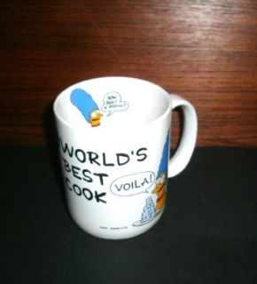 Marge Simpson Coffee Cup The Simpsons Coffee Mug Worlds Best Cook