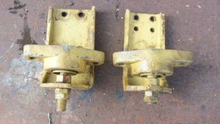 Caterpiller 3208 Marine Diesel Parts Lot Oil DIP Stick Motor Mounts