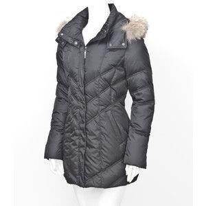 Authentic Andrew Marc Horizon Black Down Coat Jacket