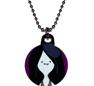Adventure Time Marceline Vampire Cartoon Network 1 Necklace 24 Ball