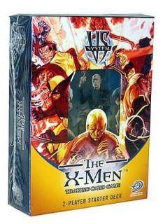 Marvel Vs System The X Men 2 player Starter Deck Trading card game 52