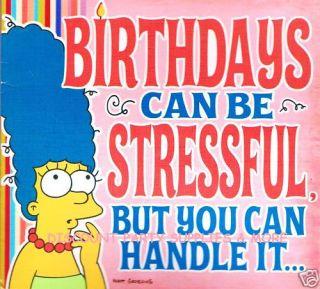Marge Simpson Birthday Greeting Sound Card