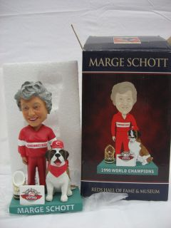 Marge Schott 1990 Cincinnati Reds Hall Fame World Series Champs