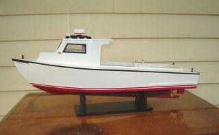 Model Chesapeake Bay Work Boat Scratch Built