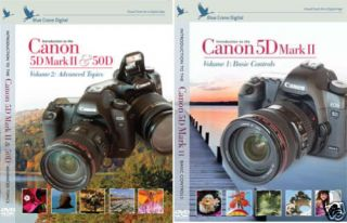 Blue Crane Canon EOS 5D Mark II Complete 3 DVD Set