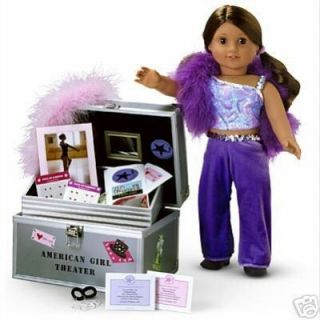 American Girl Marisol Trunk Set