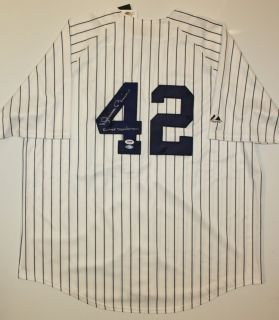 Mariano Rivera Autographed P S New York Yankees Jersey PSA DNA