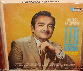 Leo Marini Con Sonora Boleros de Siempre LP VG 20110