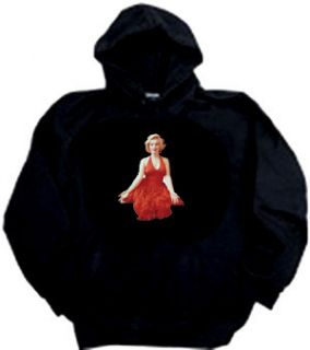 Marilyn Monroe Red Dress Actress Adult Hoody Hoodie