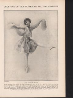 FP1914 Marilyn Miller Ballet Dance Winter Garden Sing Floyd Photo