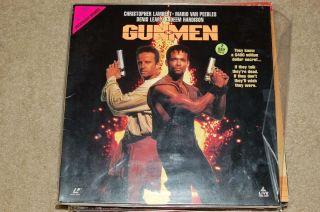 Gunmen Laserdisc Laser Disc Disk Mario Van Peeples Denis Leary