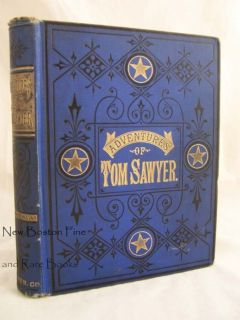 Mark Twain THE ADVENTURES OF TOM SAWYER 1900 1st Edition Early