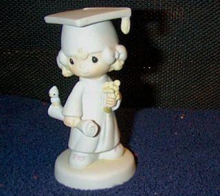 Precious Moments Lord Bless Keep You Girl Graduate Figurine