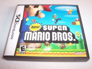 Super Mario Bros Brothers Nintendo DS Lite DSi XL 3DS w Case