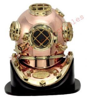 Brass Copper Mark V Diving Helmet Excellent Quality