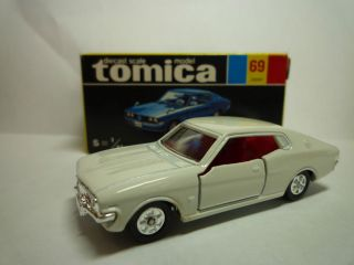 Tomica 69 Toyota Corona MARK L 1E Japan Rare S 1 61 mint