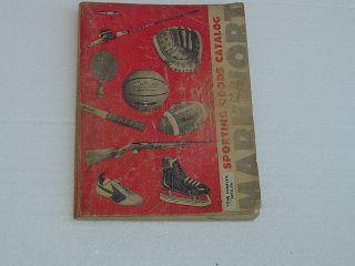MARKWORT Sporting Goods Catalog 1973 74 vintage Hunting Fishing