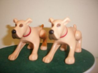Marmaduke Pouncing Dog Lot of 2 Movie Toy Burger King