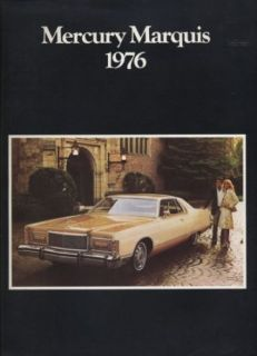 1976 Mercury Grand Marquis Dealer Sales Brochure Book
