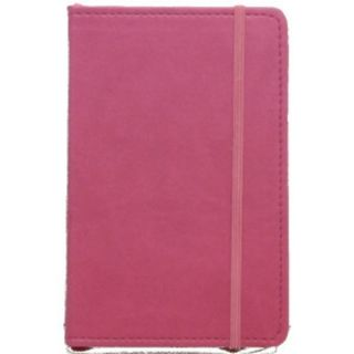 Italian Leatherette C R Gibson Markings Pink Diary Book GRID Pages