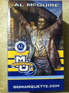 Al McGuire Figurine  Marquette Golden Eagles Final Four Warriors 1977