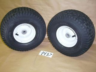 ARIENS 1648H Sierra Lawn Tractor FRONT TIRES RIMS New Axle Bushings