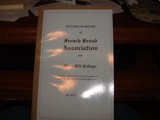 French Broad Baptist Association Mars Hill College RARE