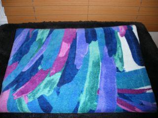 New Extra Large Blue Beach Towel Bath Towel by Martha Stewart