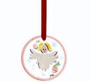 KOSTA BODA ANGEL crystal glass Martti Rytkonen Christmas ORNAMENT