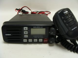 Uniden Solara DSC Marine Fixed Mount 2 Way VHF Radio